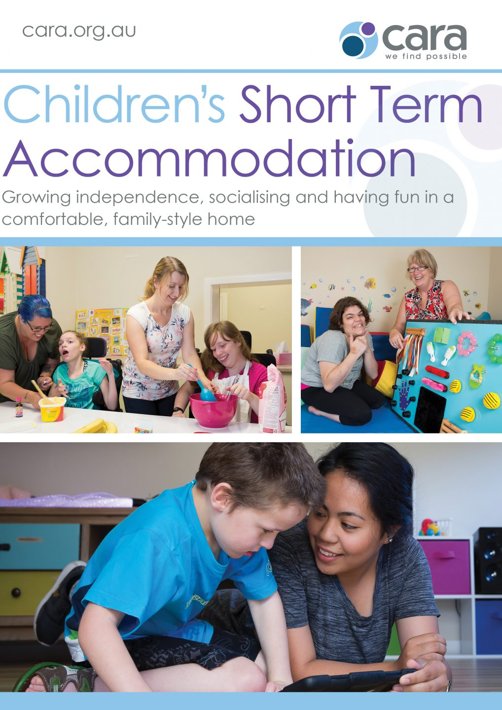 Children's Short Term Accommodation