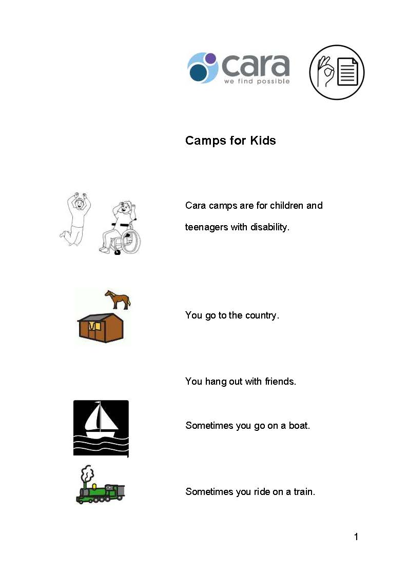 Camps for Kids Easy English