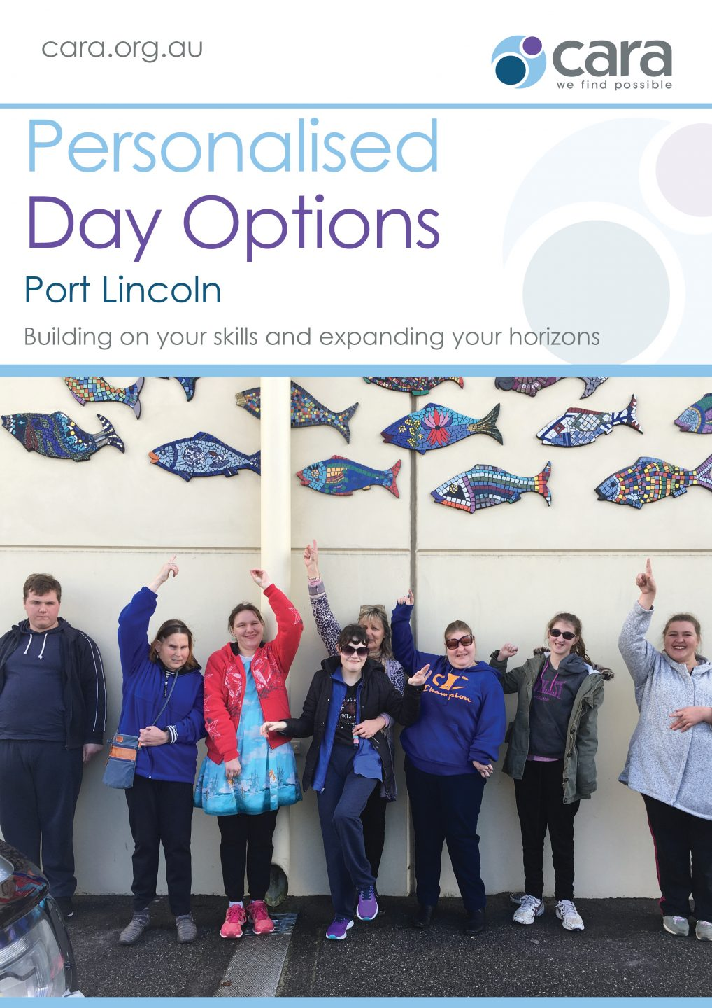 Personalised Day Options - Port Lincoln