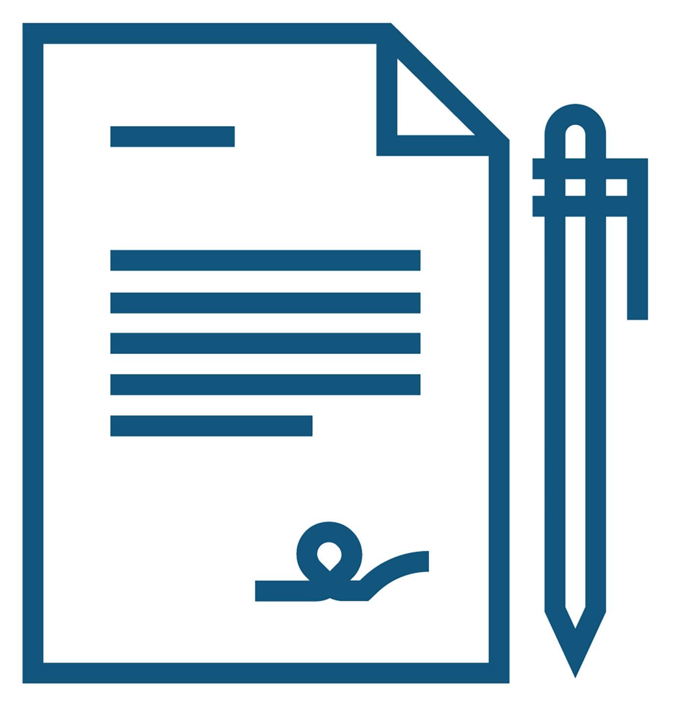 Hình ảnh hai bàn tay run rẩy và một tài liệu đã ký