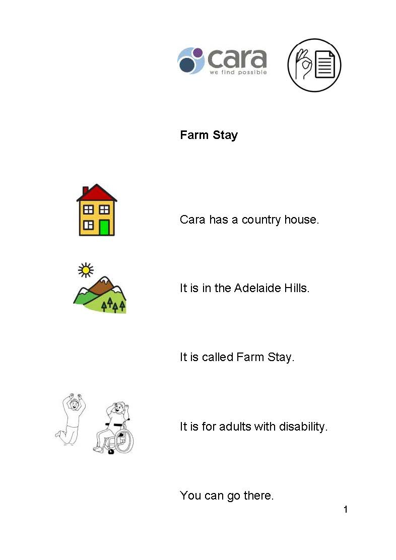 Farm Stay Easy English
